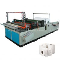 Hot sale toilet tissue jumbo roll paper coverting machine