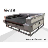供应济南奥镭1610激光裁皮机适用于专车专用座套裁剪下料