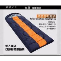 旅驿户外睡袋四季户外室内加厚可拼接睡袋