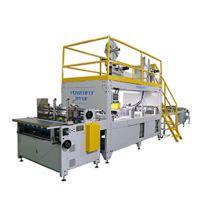 动力飞扬PF-TSJ-C标准型牛奶饮料行业专用全自动提手粘接机器人