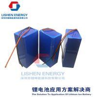 14.8v10ah太阳能路灯、led灯、太阳能储能锂电池组 深圳锂神