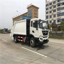 福龙马价格,10吨压缩环卫垃圾车