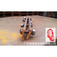 QU80钢轨配件,轨道压板,铁路专用配件,压板总成,Q235