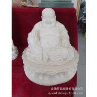 汉白玉精品弥勒佛雕塑 小件工艺品雕刻 大理石浮雕 【厂家直销】