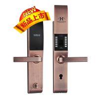 供应宏安兴智能家用指纹锁,小区密码锁,公寓指纹锁,高档小区