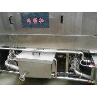 正康厂家供应隧道式高压热水洗筐机 全自动食品筐洗箱机 带烘干清洗设备