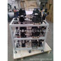 大流量压缩空气 气体增压稳压设备 车间气体增压器增压机
