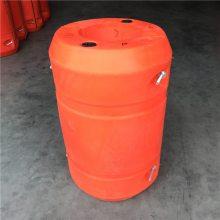 【浮筒PE浮筒】食品级无污染塑料外壳浮筒-发泡PE浮筒多少钱?