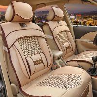 全包畅销新款仿手编坐垫 冰丝座垫 春夏凉垫 汽车通用座垫座套035