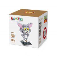 俐智loz钻石小颗粒 塑料益智拼插拼装积木 猫和老鼠 猫9445
