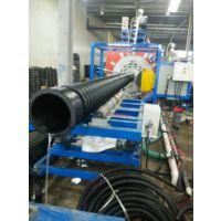 台亚牌克拉管,HDPE高密度聚乙烯增强缠绕管 全塑管,承插电热熔连接 十米克拉