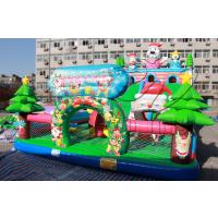 儿童气垫蹦蹦床 河南卧龙充气蹦床城堡21年品牌厂家