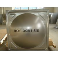 供应不锈钢水箱模压板 方型水箱冲压板