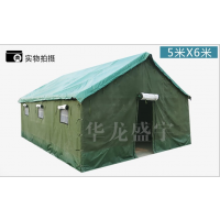 厂家直销 华龙盛宇帐篷施工帐篷救灾加厚防雨防风保暖加厚