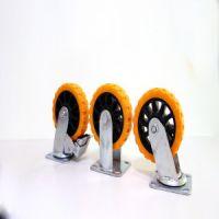 安徽省优质静音4寸定向尼龙轮带刹车脚轮品质