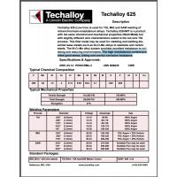 美国泰克罗伊Techalloy 418 镍基焊丝 ERNiCu-7 焊丝