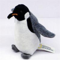活动节日礼品 填充玩偶布艺公仔企鹅可来图设计定制 OEM加工