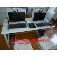 托克拉克品牌供应西宁新款钢木学校电脑桌 简约现代款