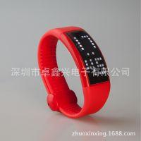 红色计步器u盘 红色手表u盘 卡路里计算u盘 高端礼品健身u盘