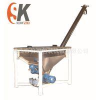 厂家直销 鱼料粉包装机 螺旋定量 鱼饲料包装机械设备批发