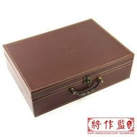 【将作监】定制交房钥匙礼品盒交房盒皮质楼书盒房产证箱交房礼品