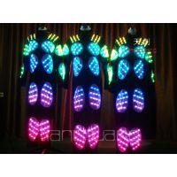 LED发光服LED连体表演服 发光演出服装 时尚舞台发光表演服