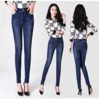 低价库存清仓牛仔裤处理 杂款韩版女式小脚牛仔裤 便宜地摊货源