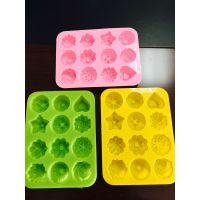 供应诺亿花型硅胶冰格食品级硅胶冰格批发硅胶冰格价格