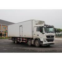 中国重汽T5G冷藏车价格,280马力,6*2冷藏车报价,图片