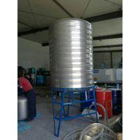 不锈钢保温水箱 不锈钢圆柱形水箱