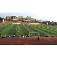唐山专业建人造草坪足球场_足球场施工过程