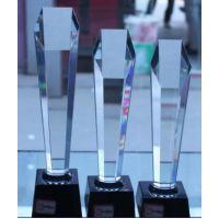 西安水晶奖杯奖牌定做水晶纪念品定做水晶内雕水晶工艺品