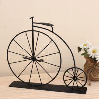 欧式地中海 仿古 铁艺小单车 室内装饰摆件 拍摄道具 礼品自行车