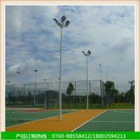 惠州学校户外篮球场灯柱生产厂家 各种运动场地上的球场灯杆批发