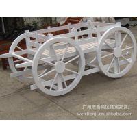 厂家长期销售全国各地优质木花盆白色木花箱花车