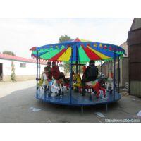 折叠转马河南厂家哪里销售 方便移动做生意就选儿童折叠转马 折叠转马做生意方便多多