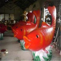 玻璃钢动物雕塑 仿真海洋生物 海螺贝壳工艺摆件 各种海洋鱼定做