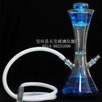 天宝tb-9998玻璃水烟壶,阿拉伯水烟枪