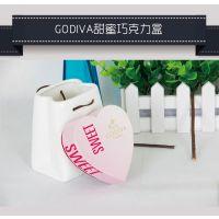 上海包装? 食品包装盒? godiva甜蜜巧克力盒