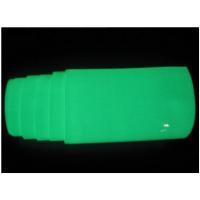 蓄光膜 PET割字夜光膜 PVC印刷喷绘自发光膜 带背胶荧光材料