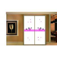 沙河烤漆衣柜玻璃批发超白3D 魔幻5D 立体彩绘衣柜门玻璃厂家