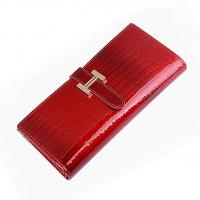 女士长款手包 头层牛皮时尚钱包 无锡礼品公司定制商务手拿包