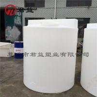 厂家直销 2吨防冻液搅拌桶 2000L塑料PE加药桶 带搅拌电机