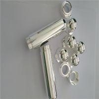 鑫鸿得电镀加工 铝合金表面处理电镀银加工
