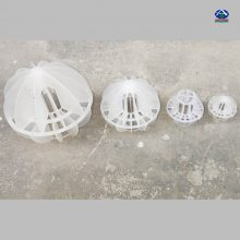 工业电镀电厂多面空心球填料 废气粉尘及污水的净化处理塑料球 【河北华强】