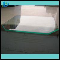 高强度12mm浮法钢化玻璃