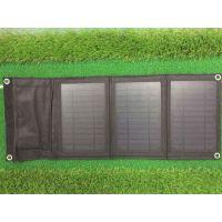 厂家供太阳能移动电源折叠包10W 充电宝充电器卖疯了促销特价