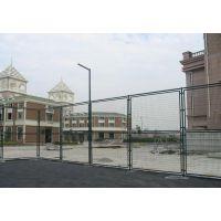 学校球场护栏网@操场绿色铁丝网围栏@4米高隔离护栏网