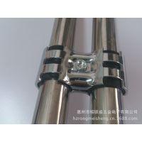 惠州  线棒连接件 镀絡接头HJ-8 线棒接头 不锈钢管连接件