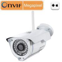 P2P即插即用无线WIFI百万高清网络摄像机 支持TF卡/NVR无线存储